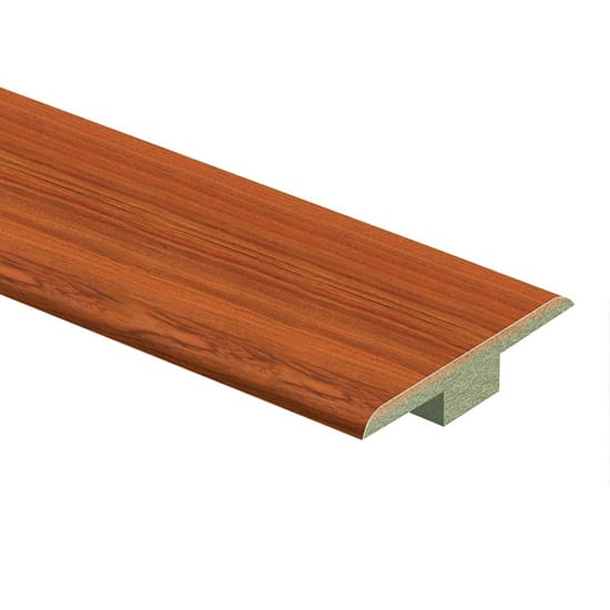 Zamma Paradise Jatoba 7/16 in. Thick x 1-3/4 in. Wide x 72 in. Length Laminate T-Molding
