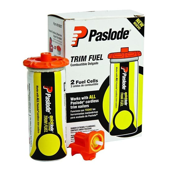 Paslode Universal Trim Yellow Fuel Cells for Cordless Trim Nailers (2-Pack)