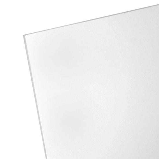 8 in. x 10 in. x 0.050 in. Non-Glare Acrylic Sheet