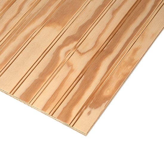 Plywood Siding Plybead Panel (Nominal: 11/32 in. x 4 ft. x 8 ft.; Actual: 0.313 in. x 48 in. x 96 in.)