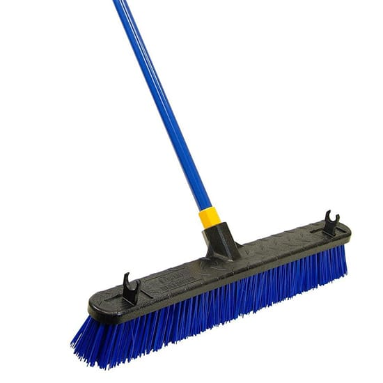 Quickie Bulldozer 24 in. Super Stiff Poly Push Broom