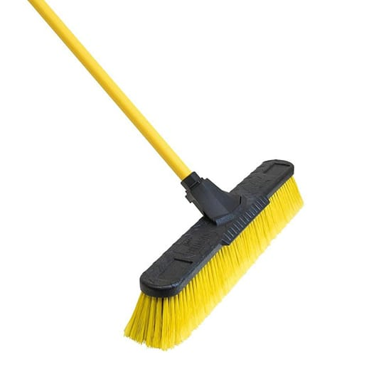 Quickie Bulldozer 24 in. Multi-Surface Fiberglass Push Broom