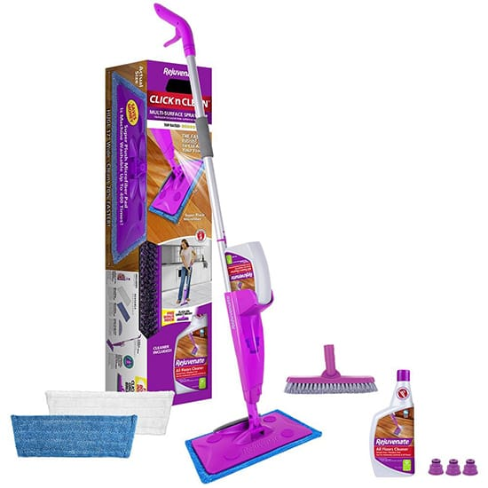 Rejuvenate Click n Clean Multi-Surface Microfiber Spray Mop