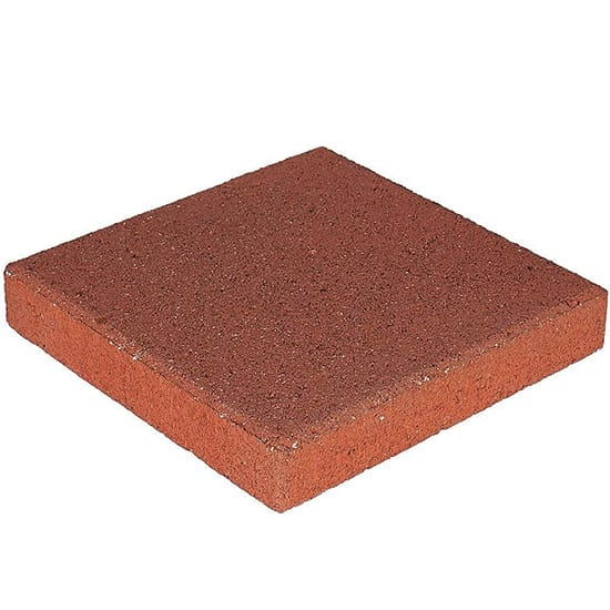 Pavestone 12 in. x 12 in. x 1.5 in. River Red Square Concrete Step Stone