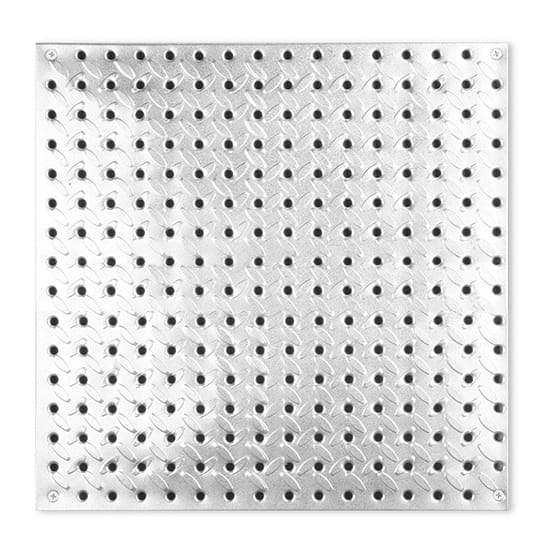 Everbilt 16 in. x 16 in. Diamond Plate Steel Pegboard
