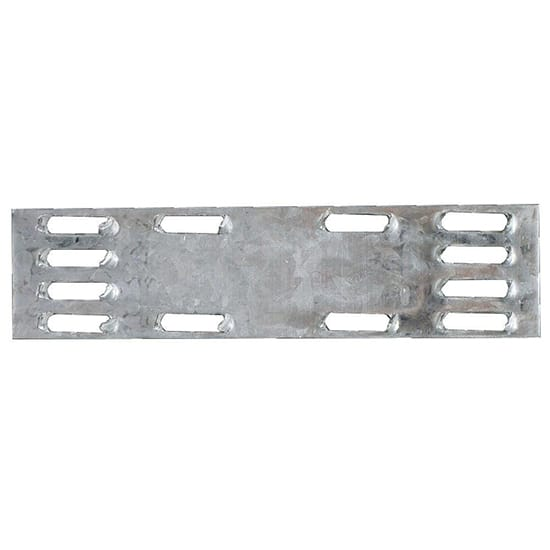 MP 1 in. x 4 in. 20-Gauge Galvanized Mending Plate