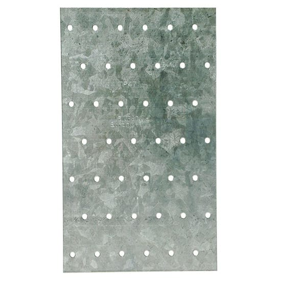 TP 4-1/8 in. x 7 in. 20-Gauge Galvanized Tie Plate
