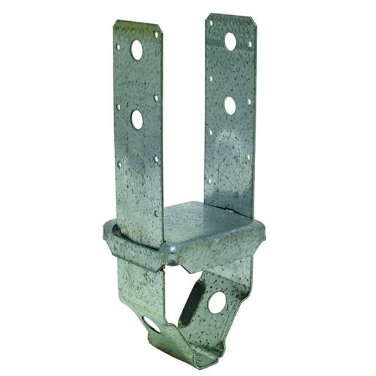 PBS ZMAX Galvanized Standoff Post Base for 4x4