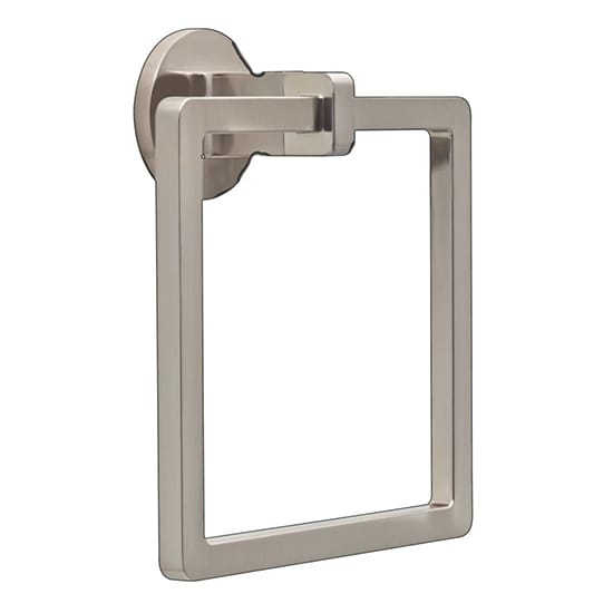 Delta Mandolin Towel Ring in SpotShield Brushed Nickel