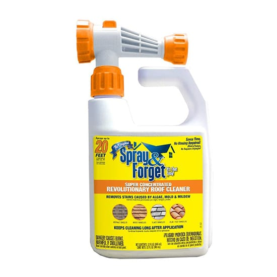 Spray & Forget 32 oz. Super Concentrated Revolutionary Roof Cleaner Hose End