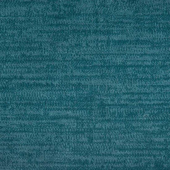 Natural Harmony Essence Teal Custom Area Rug with Pad