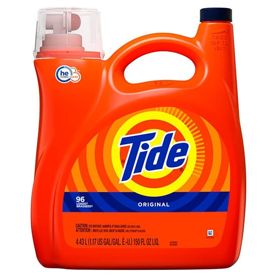 Tide 138 oz. Original Scent HE Liquid Laundry Detergent (96-Loads)