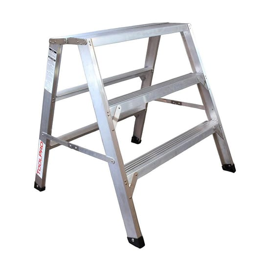 3 ft. Aluminum Flat-Top Sawhorse Ladder