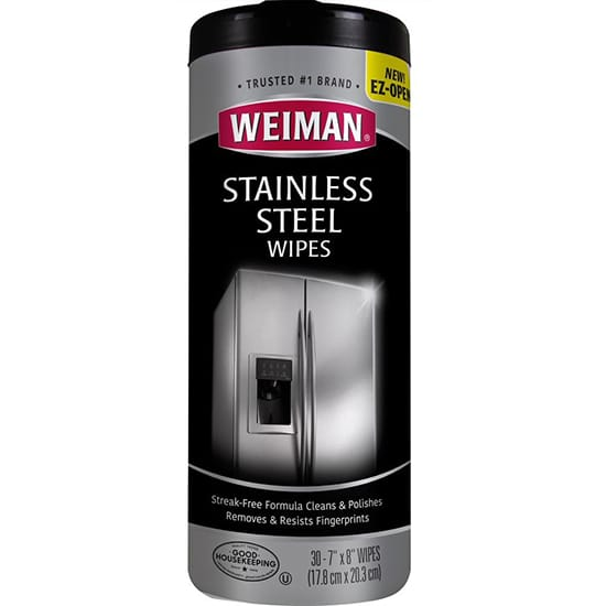 Weiman Stainless Steel Cleaner Wipes 30-7 x8