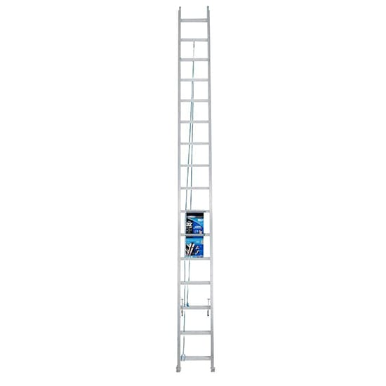 32 ft. Aluminum Extension Ladder with 250 lbs. Load Capacity Type I Duty Rating