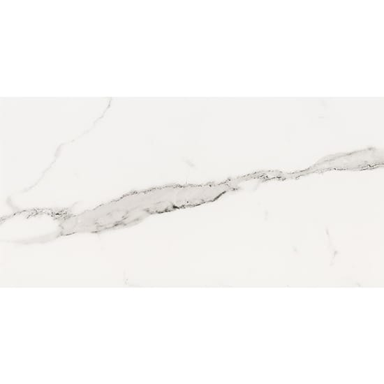ELIANE Belmar White 12 in. x 24 in. Porcelain Floor and Wall Tile (13.56 sq. ft. / case)