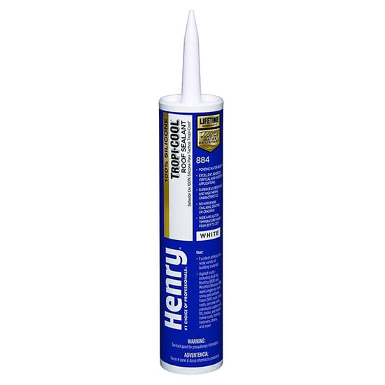 10.1 oz. 884 Tropi-Cool 100% Silicone Roof Sealant