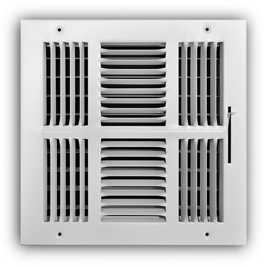 Everbilt 10 in. x 10 in. 4-Way Wall/Ceiling Register