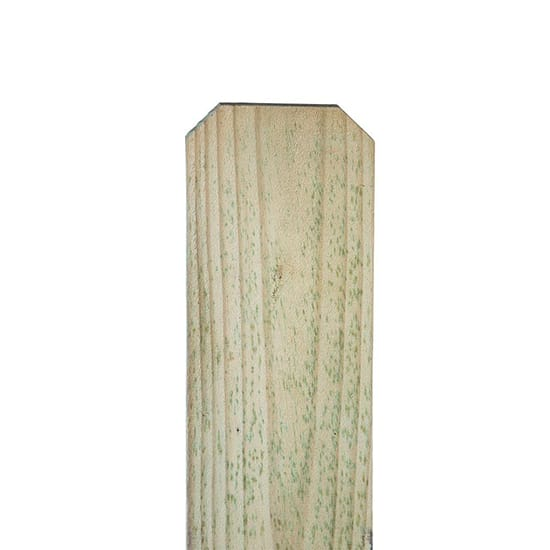 1 in. x 6 in. x 6 ft. Pressure-Treated Pine Dog-Ear Fence Picket