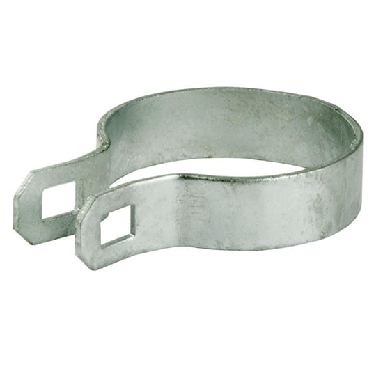 YARDGARD 2-3/8 in. Galvanized Chain Link Brace Band