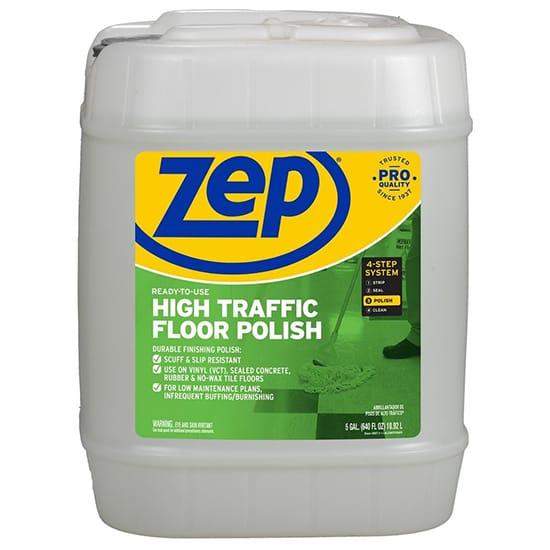 ZEP 5 Gal. High-Traffic Floor Polish