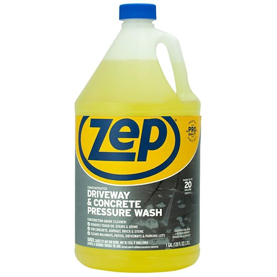 ZEP 1 Gal. Driveway and Concrete Pressure Wash Concentrate Cleaner