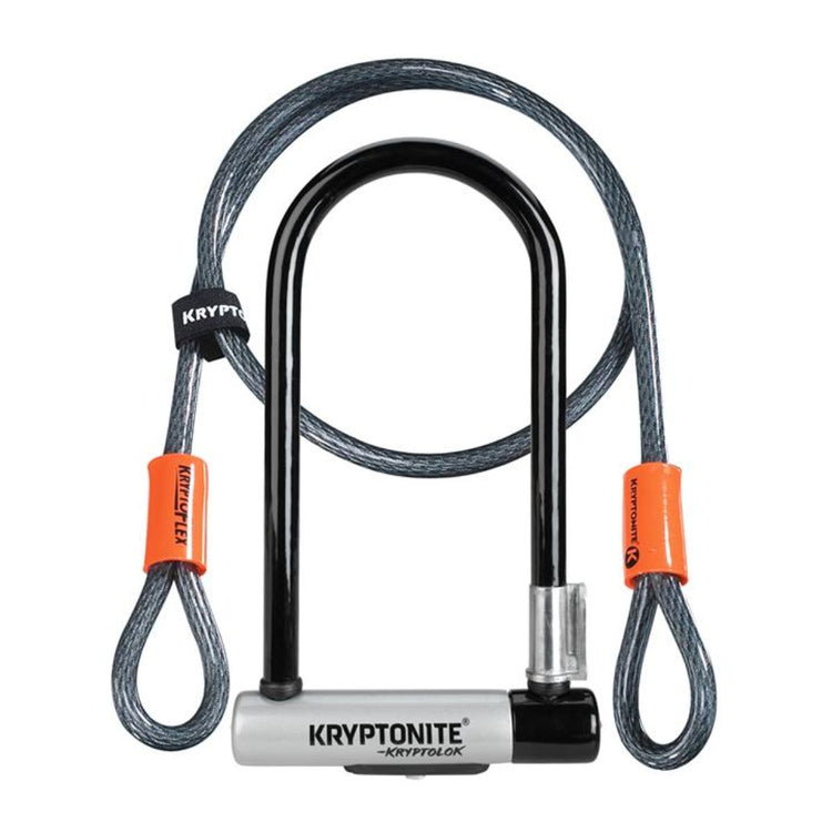 Kryptolok Standard U-Lock With 4 Foot Kryptoflex Cable