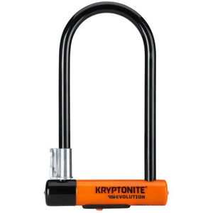 Kryptonite Evolution Long Shackle U-Lock With Flexframe Bracket#
