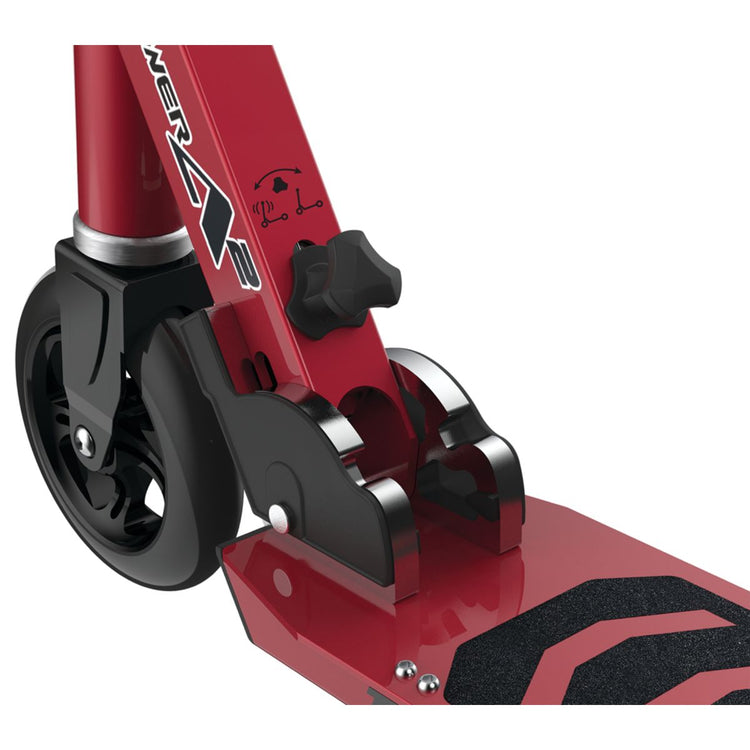 Red Razor Power A2 Kids Electric Scooter