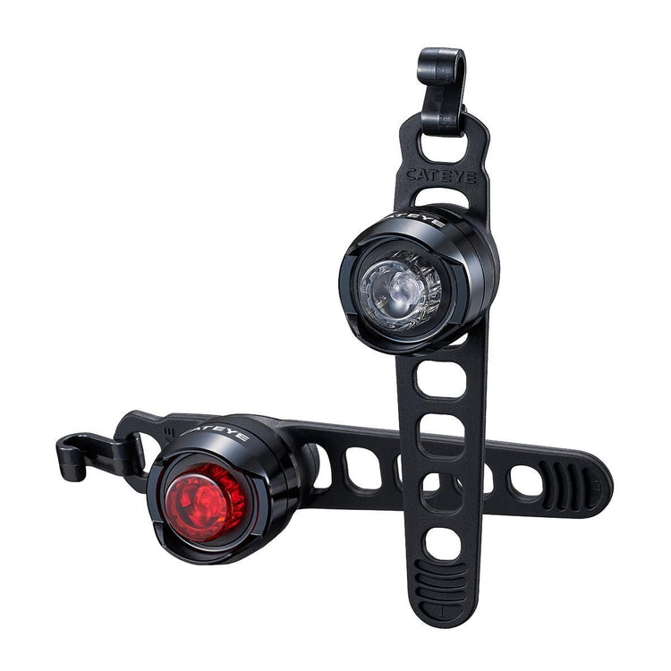 CatEye Orb Rechargeable Front & Rear Light Set