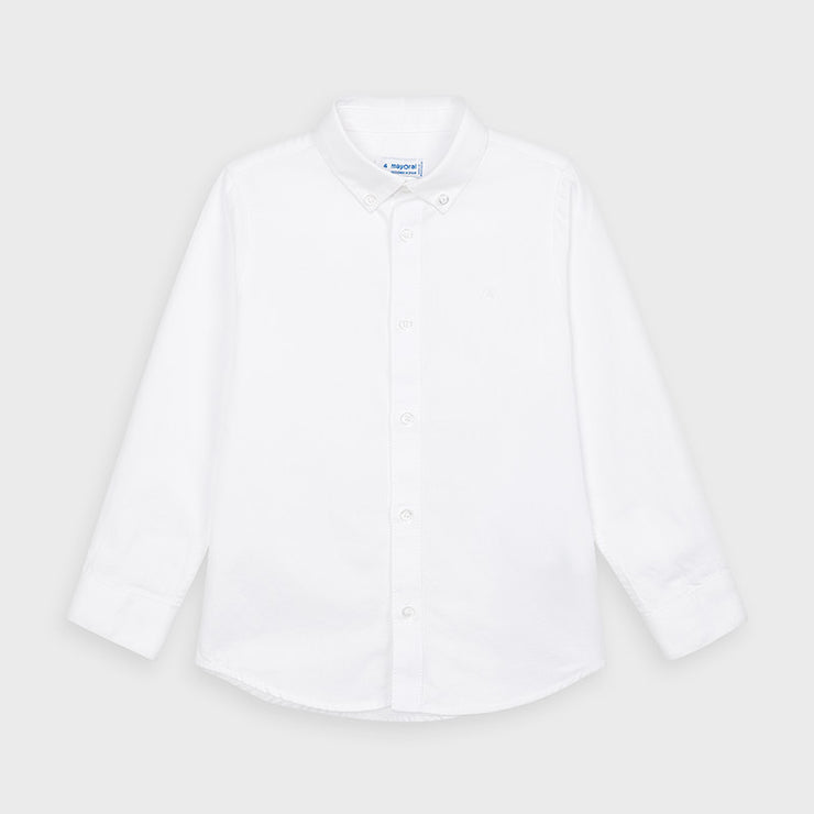 MAYORAL BASIC LS DRESS SHIRT