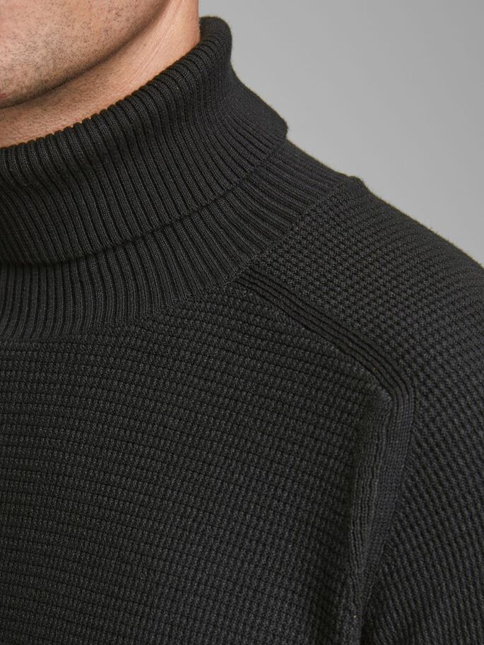 JPRBLAMONITER KNIT ROLL NECK