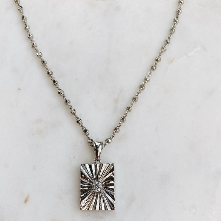 NORA SILVER NECKLACE