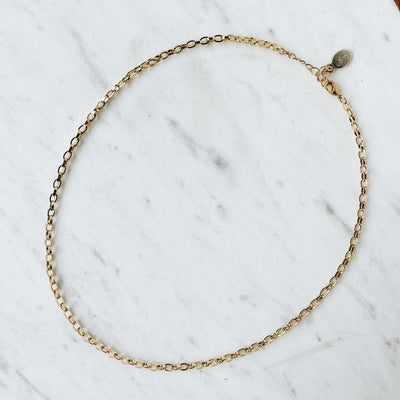 DIPOKO GOLD CHAIN NECKLACE