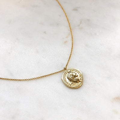 LIARD GOLD PENDANT NECKLACE