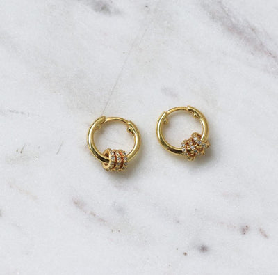 KULO GOLD HOOP EARRINGS