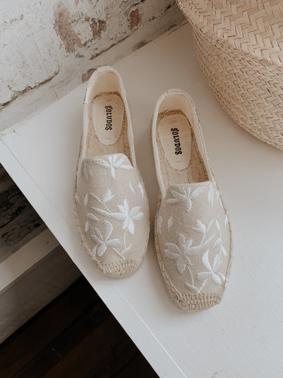 SOLUDOS SHILOH EMBROIDERED ESPADRILLE