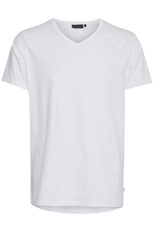 CASUAL FRIDAY BASIC V NECK TEE
