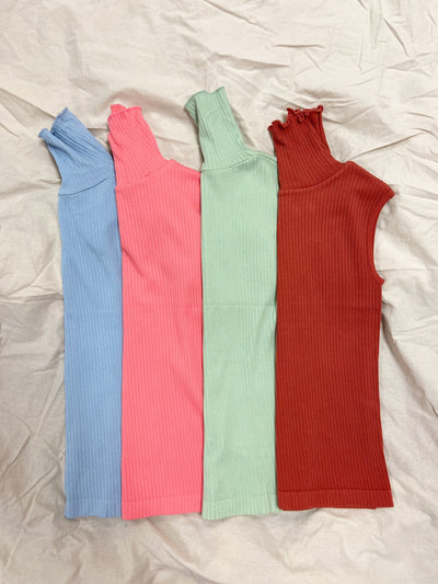 CEST MOI HN RIBBED TOP - MORE COLOURS