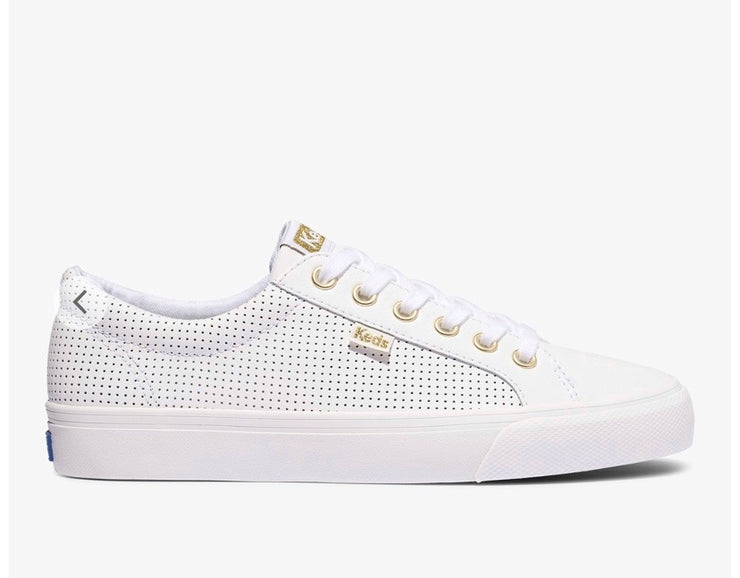 KEDS JUMP KICKS - WHITE LEATHER