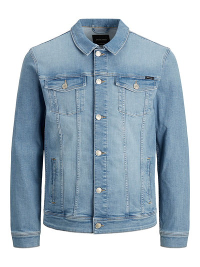 JJIALVIN JJJACKET BLUE DENIM