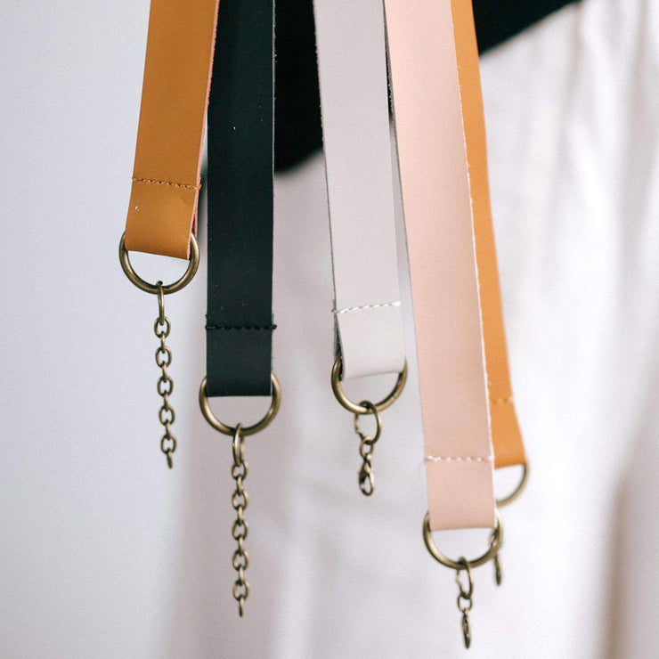 Leather Hat Bands - CHAIN