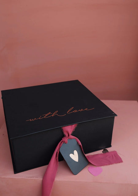 With Love Large Gift Box with Ribbon