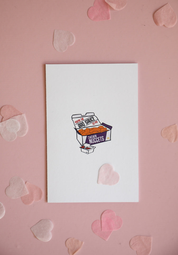 Greeting Card - Chicken Nugget