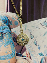 Load image into Gallery viewer, White Evil Eye Necklace