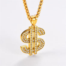 Load image into Gallery viewer, DINERO PENDANT NECKLACE