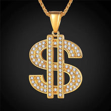 Load image into Gallery viewer, SHE MONEY PENDANT NECKLACE