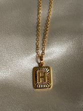 Load image into Gallery viewer, Empire Letter Gold Chain Necklace