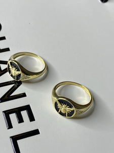 Bumble Bee Gold Ring