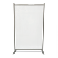 Freestanding heavy duty reusable safety screen